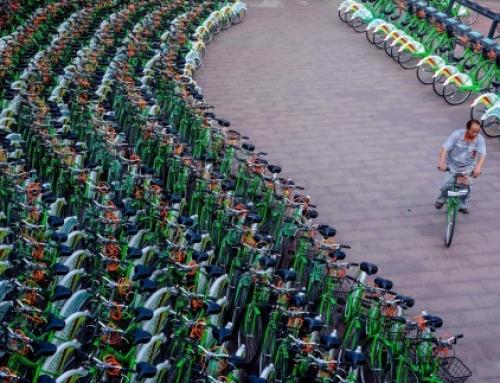 아시아에서 성장하는 자전거 공유경제 'China sets the pace on bike sharing'